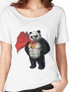 Super Panda Series  - 1 Women's Relaxed Fit T-Shirt
