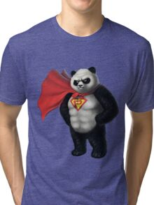 Super Panda Series  - 1 Tri-blend T-Shirt