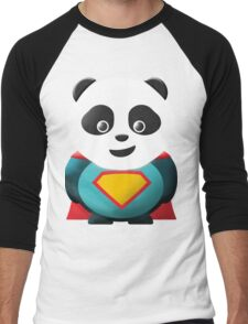 Super Panda Series  - 2 Men's Baseball ¾ T-Shirt