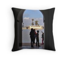 Pavillion at Menara Throw Pillow