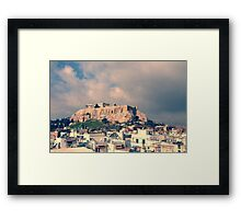 Parthenon, the Acropolis of Athens, Greece Framed Print