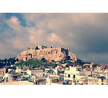 Parthenon, the Acropolis of Athens, Greece Photographic Print
