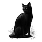 Unlucky Black cat by simonbreeze