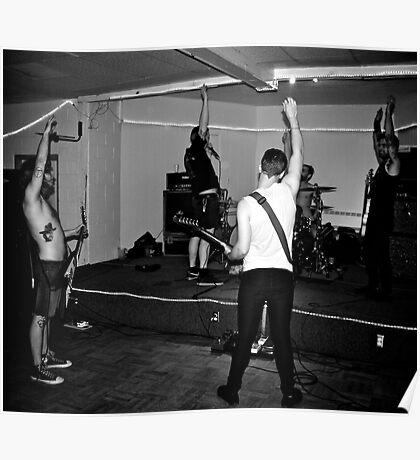 Punk Rock hello Poster