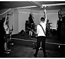 Punk Rock hello Photographic Print