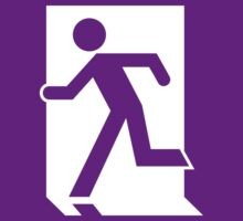 Emergency Exit Sign, with the Running Man by Egress Group Pty Ltd