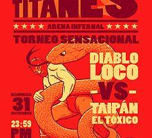 Lucha de Titanes by vcalahan