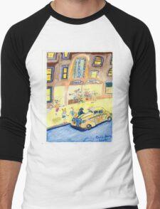A Night On The Town Men's Baseball ¾ T-Shirt