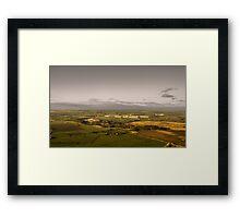 Yorkshire Dalescape Framed Print