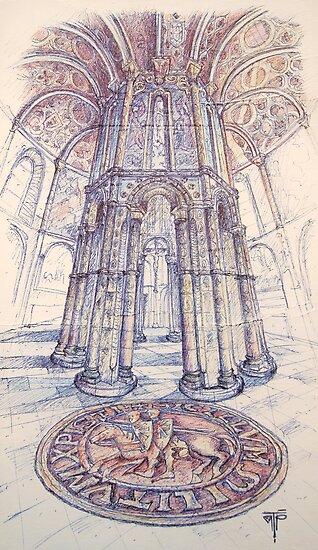 Charola. Convento de Cristo. Tomar. by terezadelpilar~ art & architecture