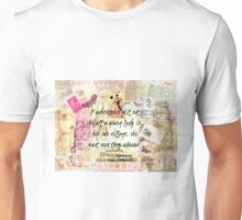 Jane Austen whimsical adventure travel quote Unisex T-Shirt