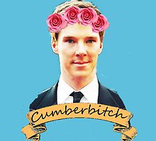 Cumberbitch ipad case by potatopuff