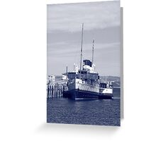 Steam on the Water Greeting Card