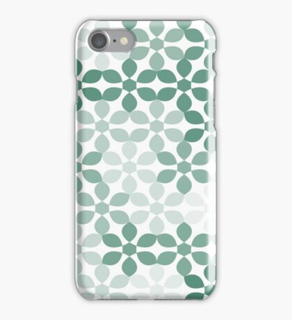 khaki floral pattern background iPhone Case/Skin