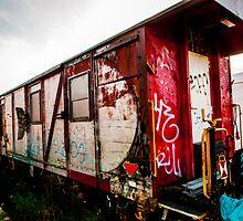 Graffiti train by photologic