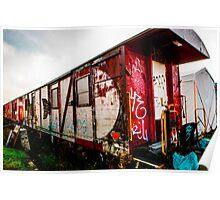 Graffiti train Poster