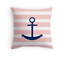 AFE~Nautical-ship anchor Throw Pillow