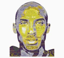 Kobe Bryant word collage by EversonInd