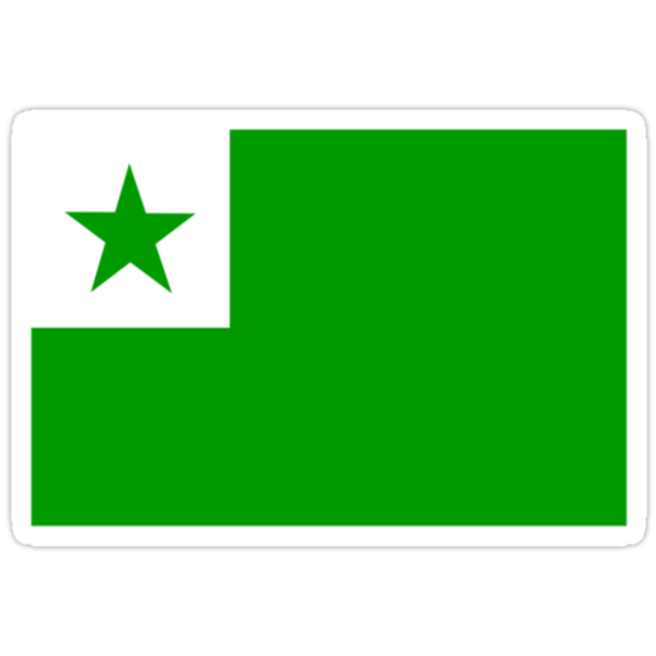 Esperanto Flag by raevan
