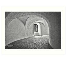 Copenhagen - The Round Tower Art Print