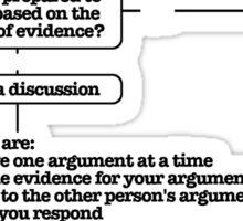 A Logical Argument Sticker