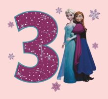 Frozen Anna & Elsa 3rd Birthday by sweetsisters