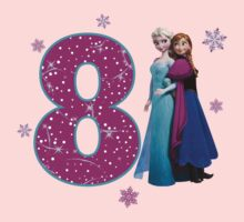 Frozen Anna & Elsa 8th Birthday by sweetsisters
