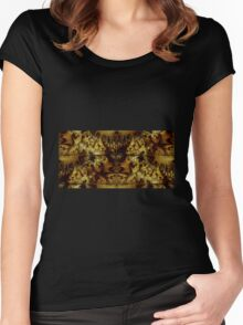 The Land of the Golden Lake Women's Fitted Scoop T-Shirt