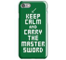 Keep Calm - Master Sword  iPhone Case/Skin