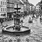 Stork Fountain on Strøget Copenhagen by © Kira Bodensted