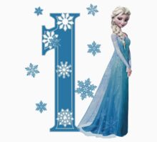 Disney Frozen Elsa 1st Birthday by sweetsisters