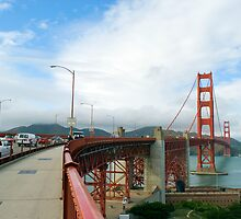 along the golden gate by photoeverywhere
