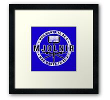 Who Wants To Be A Mjolnir Framed Print