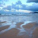 Evening at Harlyn Bay by Samantha Higgs