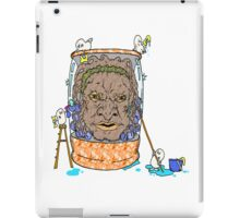 Face of Boe getting a wash iPad Case/Skin