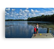 Martin Lake Canvas Print