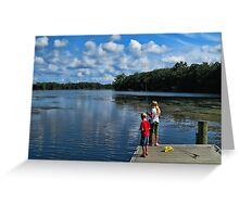 Martin Lake Greeting Card