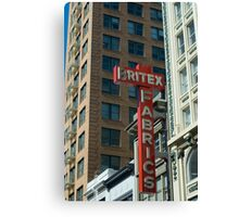 San Francisco Historic Architecture Canvas Print