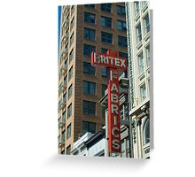 San Francisco Historic Architecture Greeting Card