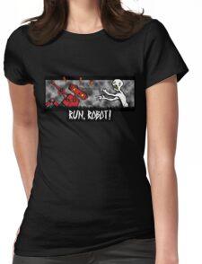 Run, Robot! Womens Fitted T-Shirt