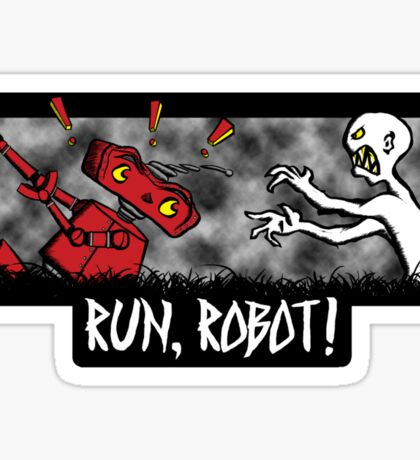 Run, Robot! Sticker