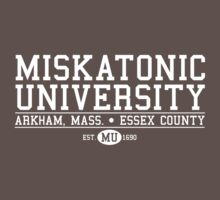 Miskatonic University - White T-Shirt