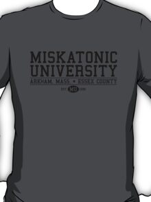 Miskatonic University - Black T-Shirt