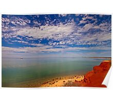 Red Cliff Bay Poster