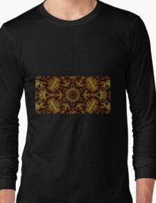 Golden Light and Shadow Long Sleeve T-Shirt