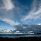 Blue Sea and Sky - Harlyn Bay, Cornwall by Samantha Higgs