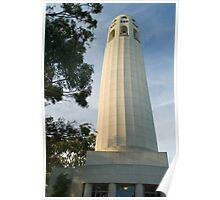 coit tower memorial Poster