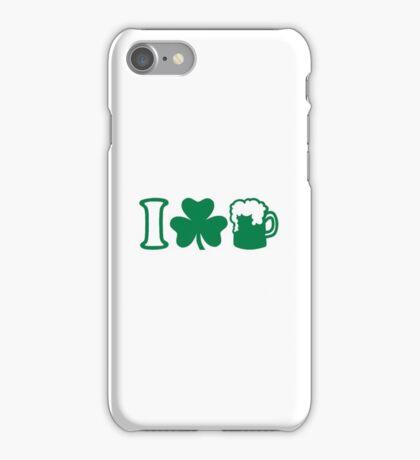 I love green beer iPhone Case/Skin