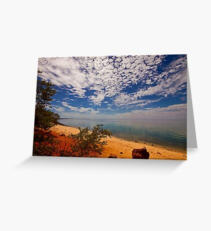 Red Cliff Bay, Monkey Mia Greeting Card