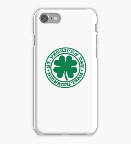 St. Patrick's day drinking team iPhone Case/Skin